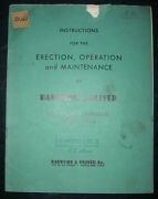 Bardons And Oliver Model 3 5 And 7 Turret Lathe Operations And Maintenance Manual
