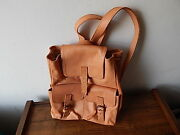 New Vania And David Genuine Leather Backpack Made In Paraguay International Sale