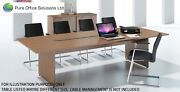 Sven - Rectangular Conference Boardroom Meeting Table - 4500 X 1200 - Seat 16