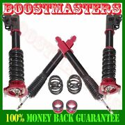 For 06-11 Honda Civic Full Coilover Suspension Lowering Kits 28 Ways Damper Red