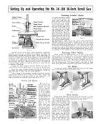 Delta Rockwell Setting Up Operating The 24 110 16inch Scroll Saw Instructions