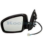 For 09-14 Murano Rear View Mirror Power Heated W/memory Manual Fold Driver Side