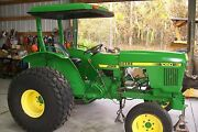 John Deere 1050 Tractor. Parting Out  Flywheel .only