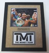 Floyd Mayweather Jr. Signed 11x14 Photo Authentic Autograph Proof Psa/dna W88938