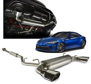 2013-2020 Fr-s And 86 Exhaust System Trd Dual Exhaust Genuine Toyota Ptr03-18170