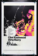Dirty Harry Cinemasterpieces 1971 Clint Eastwood Original Movie Poster Police