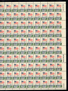 Us 1338 1968 6c-efo Imperforate Right Margin Stamps-full Sheet-very Scarce