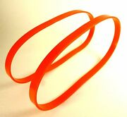 2 Wheel Protector Belts For Jet Jsl-12bs Urethane Band Saw Tires Free Shipping