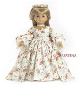 Doll Clothes 18 Dress Marie Antoinette Carpatina Made For American Girl Doll