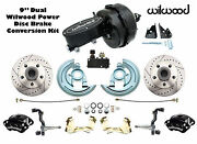 1964-1972 Gm A, F X Body Wilwood Disc Brake Kit 9 Dual Black Out Master And Valve