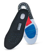 Click Cf1000 Comfortable Shock Absorption Soft Gel Insole Insert Support Unisex