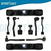 For 1999-2004 Jeep Grand Cherokee Front Lower Control Arm Ball Joint Tie Rod Kit