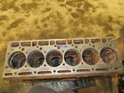 International Ih D358 Engine Block Used 3055005r3 Lower Bores On Cyl 1, 3, And 4 A