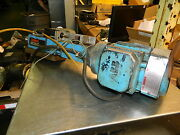 Suhner Mono Master Automatic Drill Unit W/ 3/4 Hp Abb Ac Drive Motor, Used