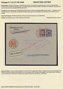 Lz126 Zeppelin Flight Cover Germany To Ontario, Canada Hv9220
