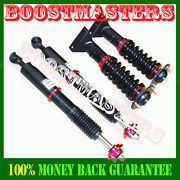 For 1992-1997 Bmw 3 Series And E36 M3 Coilover Suspension Kit Shock Strut Red