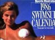 Reduced 1986 Sports Illustrated Swimsuit Wall Calendar Page/month Kathy Ireland