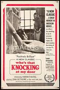 Who's That Knocking At My Door 1968 1 Sheet First Martin Scorsese Filmartgallery