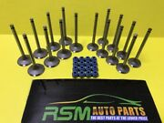 Protege 2.0l 01-03 Fs Intake And Exhaust Engine Valves + Steam Seals