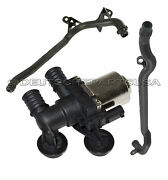Hvac Heater Control Valve Solenoid + Water Engine Inlet Coolant Pipe E46 Xi - 3