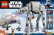 Star Wars Lego 8129 At-at Walker New Sealed Retired
