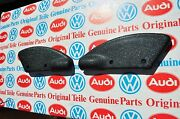 Vw Mk1 Golf Cabriolet Convertible Top Boot Fastener Cable Covers -nos-