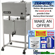 Durastill 8 Gal/d Auto Water Distiller 10/gal Tank Limited Inventory-ask First