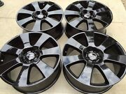 22 Brand New Black Oem Factory Range Rover Supercharged 708 Wheels Only No Tire