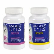 Angels Eyes Plus Natural Tear Stain Remover Powder Angel Eyes - Made In Usa