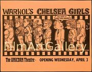 Andy Warholand039s Chelsea Girls 1967 Ultra-rare 11x14 Poster Ron Cobb Filmartgallery