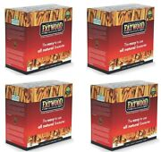 4 Boxes Wood Products 9987 5 Lb Fatwood All Natural Fire Starters / Kindling