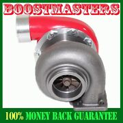 For Gt45 Turbo/turbocharger 600+hp Boost Universal T4/t66 3.5v-band1.05 Red