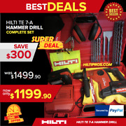 Hilti Te 7-a Cordless Hammer Drill, Free Extras,brand New, Durable,fast Shipping