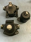 3 Oem Quality Hydraulic Motor Mount For 04-08 Acura Tsx Gas Dohc L4-2.4l