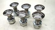 49 50 51 1949 1950 1951 Ford Truck Front Bumper Bolts Set Of 6 W/ Nuts