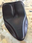 Boardtrack Leather Spring Solo Motorcycle Seat Sportster Dyna Harley Davidson