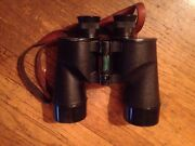 Wwii Bausch And Lomb M7 1942 F.j.a. 7x50 Army Binoculars With Leather Case