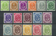 Germany 1951-2 Sg.1045-1060 Unmounted Mint
