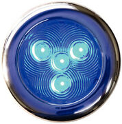 3 Inch Blue Led Color Stainless Flush Mount Courtesy Accent And Utility Light