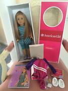 American Girl Doll Mckenna 2012 Girl Of The Year With Book + Bonus Outfit