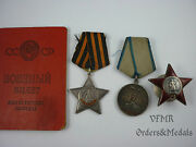 Soviet Researched Medal Group Sergeant 133 Rifle Division Mortars Company