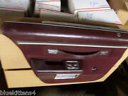 1986 Chevy Caprice Estate Wagon Left Rear Door Panel Armrest Used Oem Red