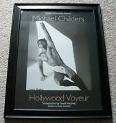 Michael Childers Hollywood Voyeur Cover 18 X 24 Photograph Signed And Framed