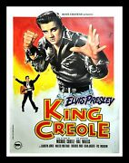 King Creole Cinemasterpieces Elvis Presley France French 1970and039s Movie Poster