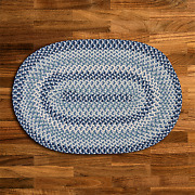 Boston Common Capeside Blue Braided Area Rug By Colonial Mills. Many Sizes