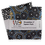 Warrina Charm Pack Quilt Fabric 40 Squares 5 Inch Set Of 10 Designs X 4 Each