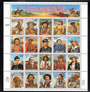 Us 2870 1994 29c - Mnh - Legends Of The West Recalled - Sheet Of 20
