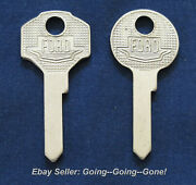 Set Original Oem Ford Key Blanks 1935-1951 1125f H10 1125g H9 Ignitions And Trunks
