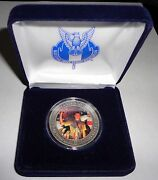 Nesa Eagle Scout Court Of Honor Norman Rockwell Silver Coin And Case 2013 Jamboree