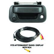Black Tailgate Handle Backup Camera For Ford F150 F250-550 Truck Rostra 250-8650